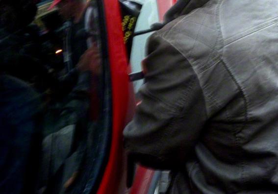 Ouverture porte de voiture