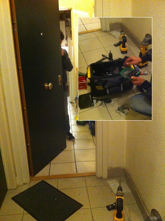 Ouverture porte blindee - Serrurerie par Serrurier Bruxelles