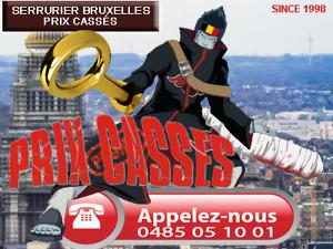 Serrurier Bruxelles. Serrurier pour dépannage urgent (moto), ouverture de porte Pro sans dégâts. 7J/7 24H/24 sur Bruxelles. 0485 05 10 01. Devis gratuit sur Bruxelles et Brabant. Serrurier Bruxelles depuis 1998.